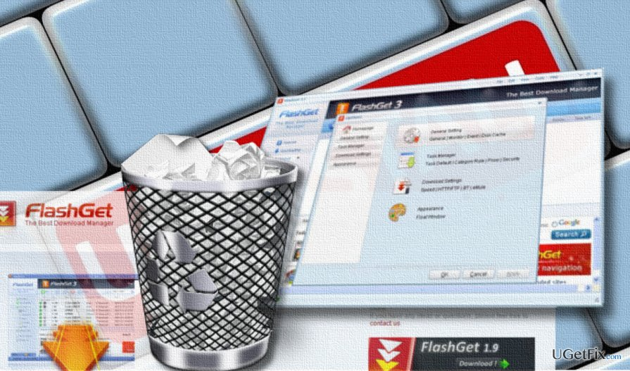 FlashGet download manager uninstall guide