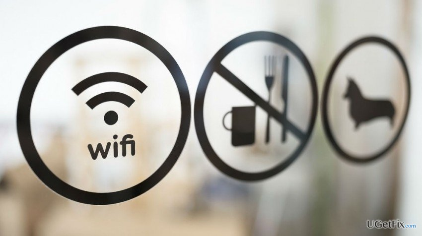 stay safe on public Wi-Fi network
