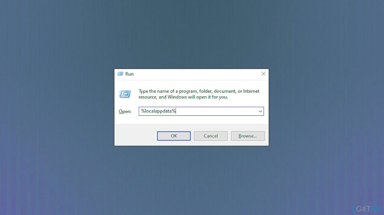 App data folder shortcut
