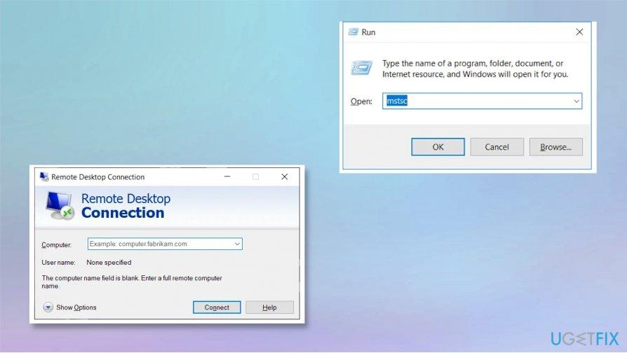 Remote Desktop Access feature