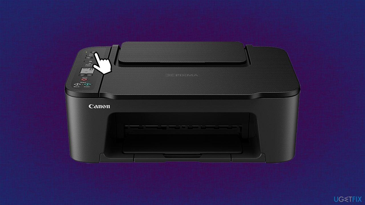 Restart printer