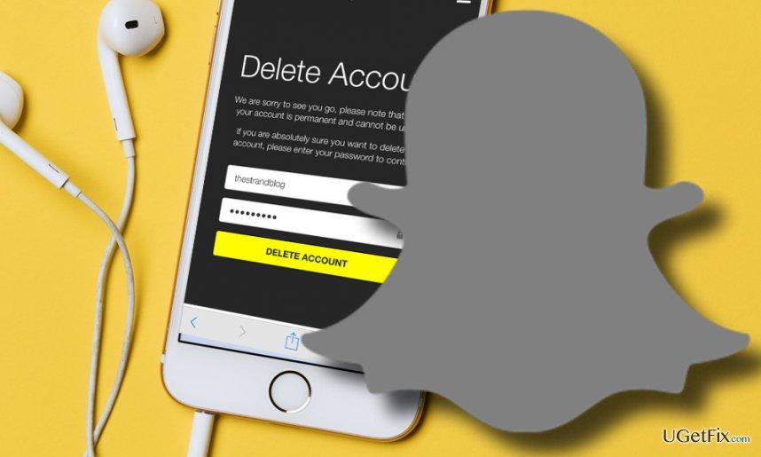Remove Snapchat
