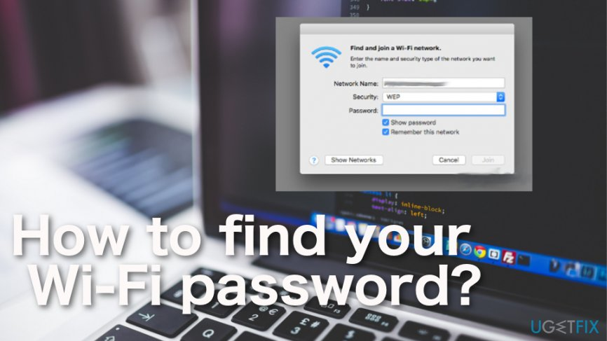How tofind your Wi-Fi password