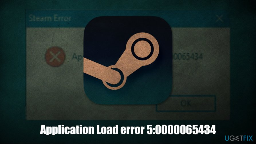 How to fix Application Load error 5:0000065434?