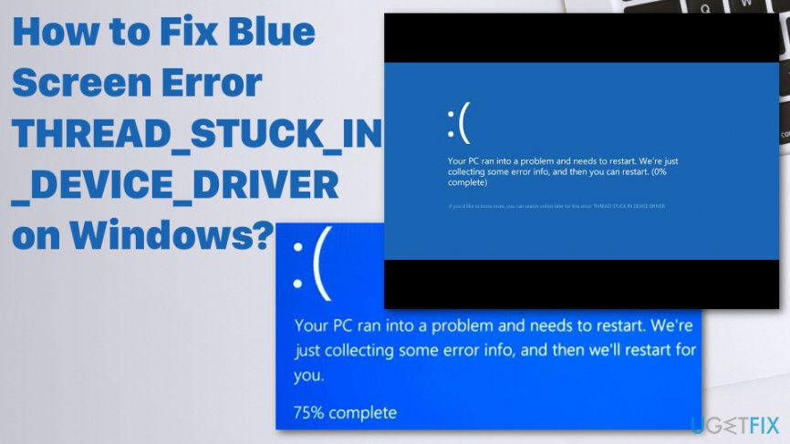 win 10 thread stuck in device driver amd