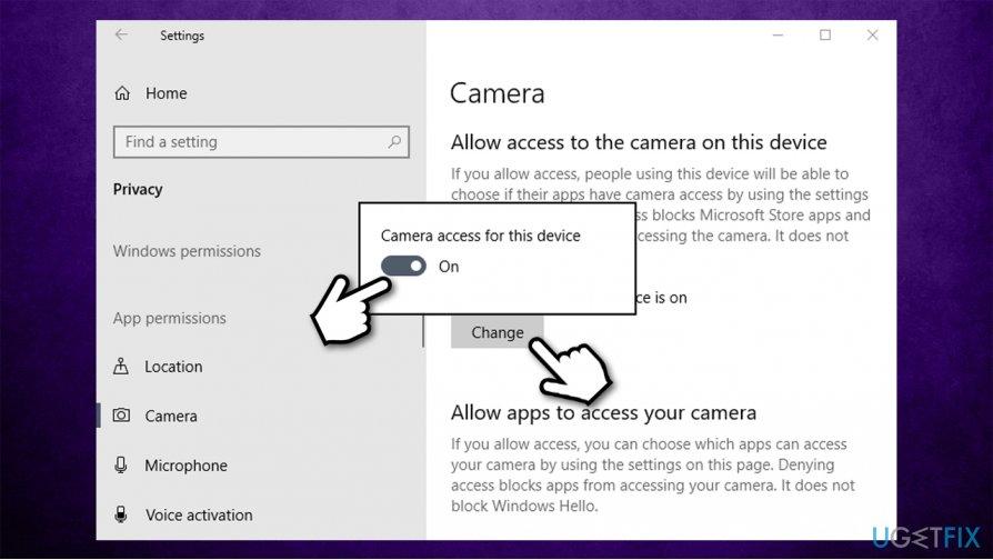 Tweak privacy settings2