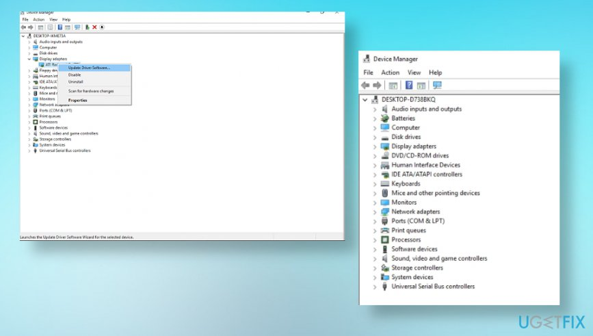 Device driver updates
