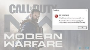 How to fix Dev Error 6068 Call of Duty: Modern Warfare?