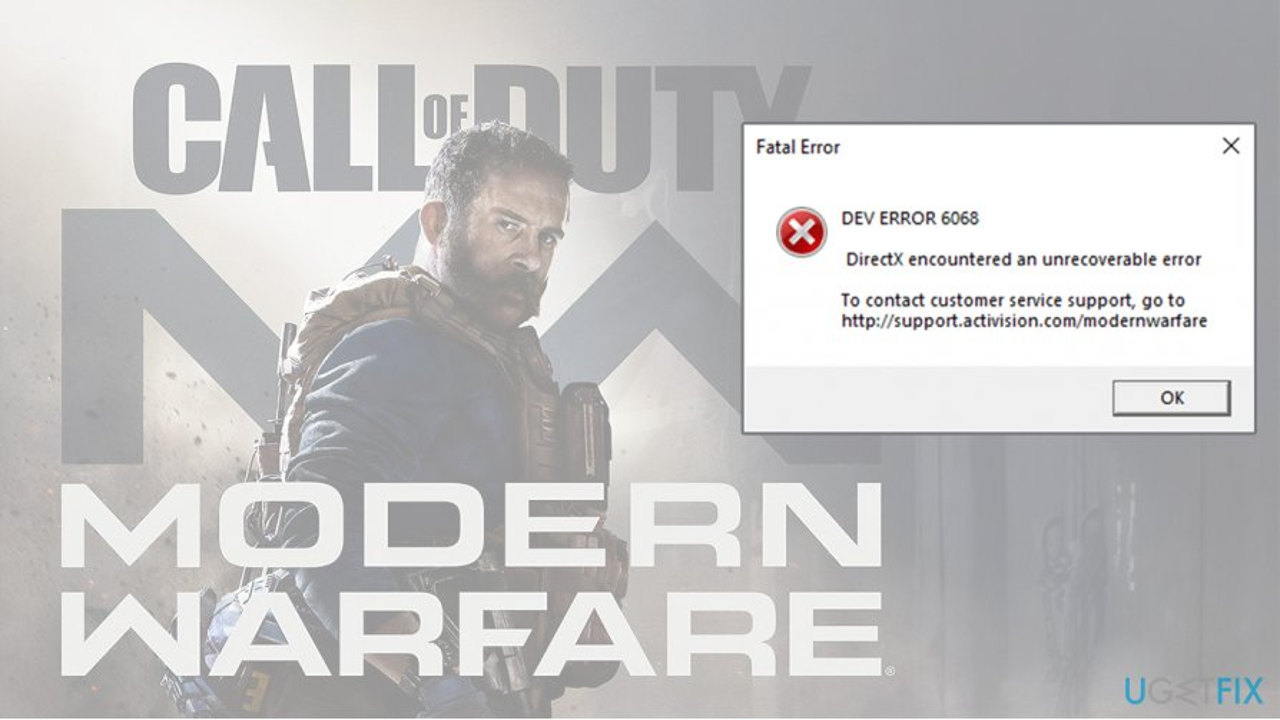 How to fix Dev Error 6068 Call of Duty: Modern Warfare?