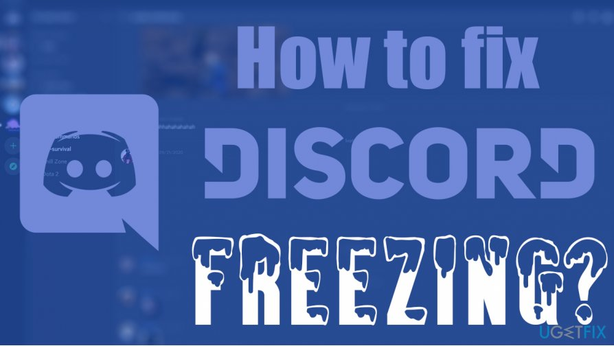 How to fix Discord keeps freezing?