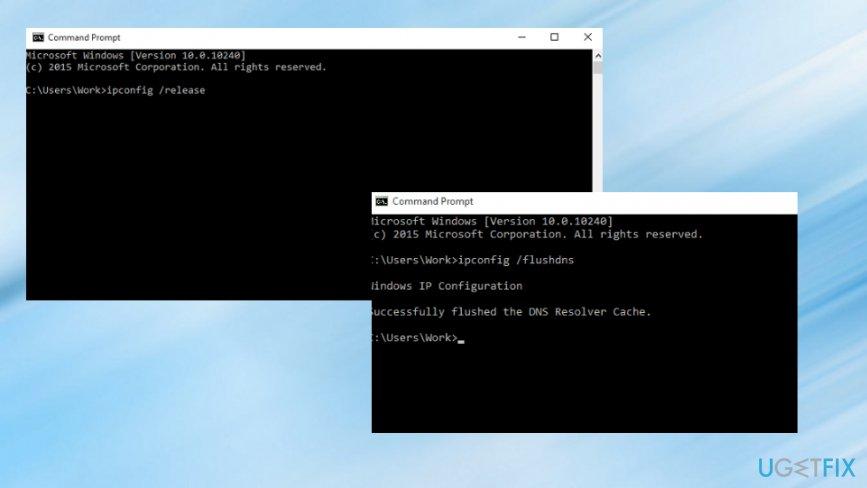 Command prompt method