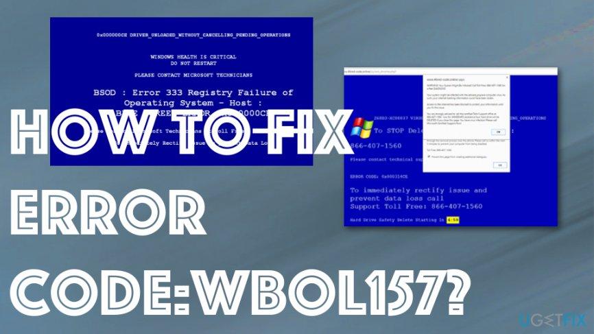 Error code:WBOL157 scam