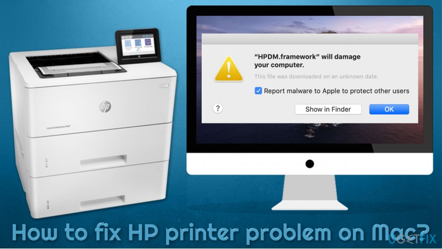 How to fix HP printer problem on Mac?