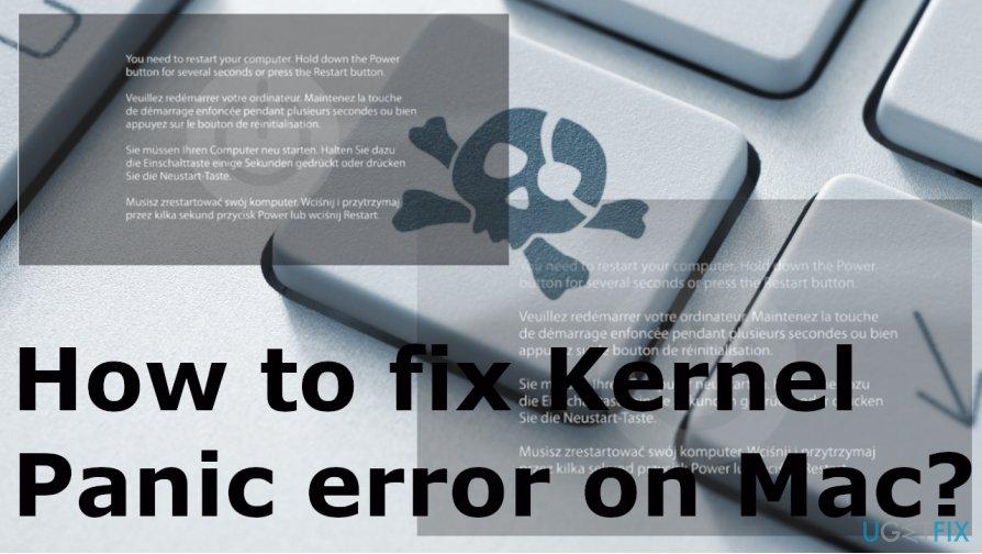 Fixing Kernel Panic error on Mac