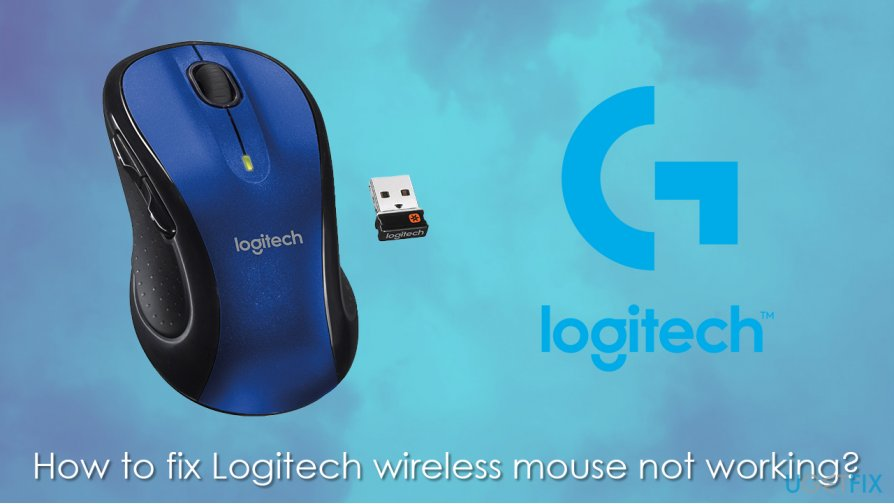 How to fix Logitech wireless mouse not working?