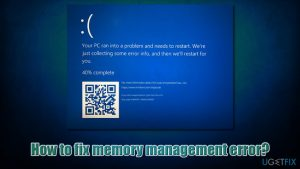 How to fix memory management error?