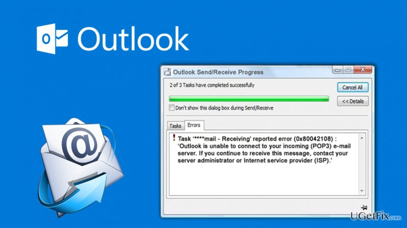 How to Fix Microsoft Outlook Error 0x80042108?