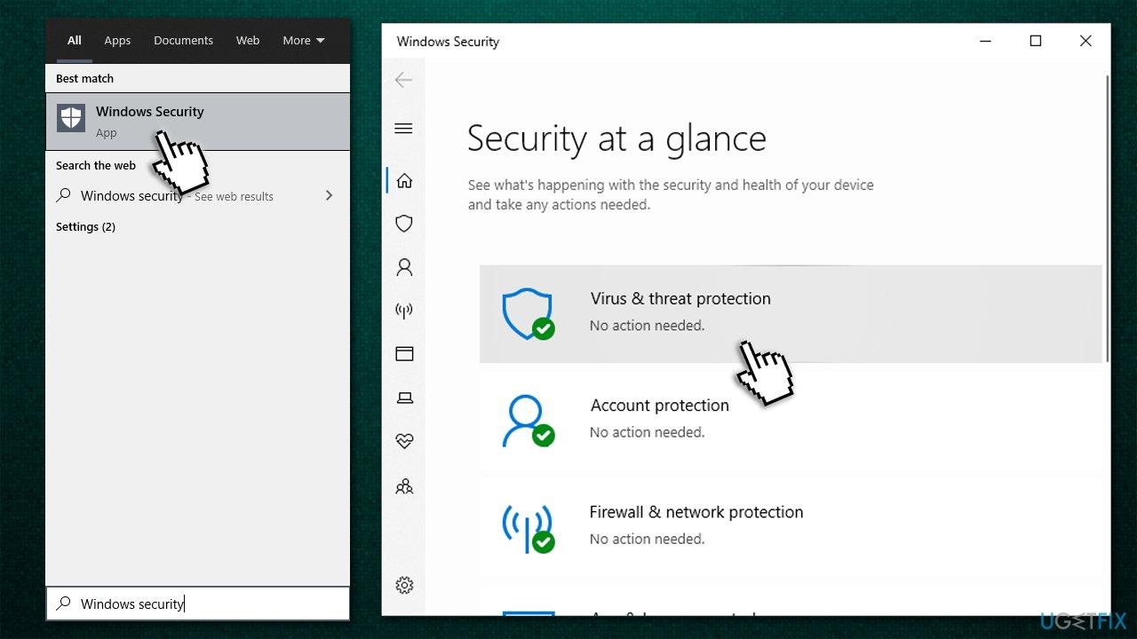Open Microsoft Defender