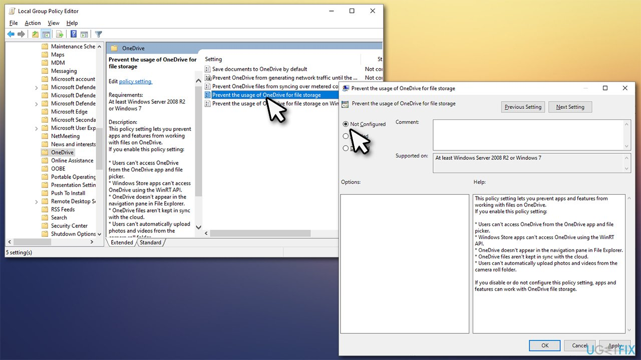 Edit Group Policy