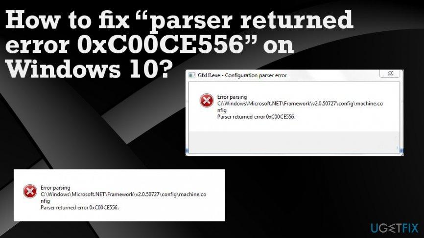 How to fix the Windows error code 0xC00CE556