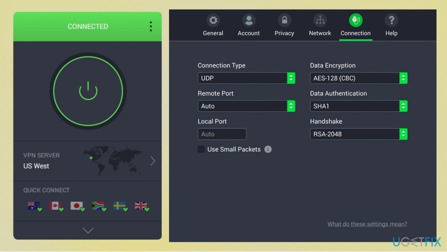 Use Private Internet Access VPN