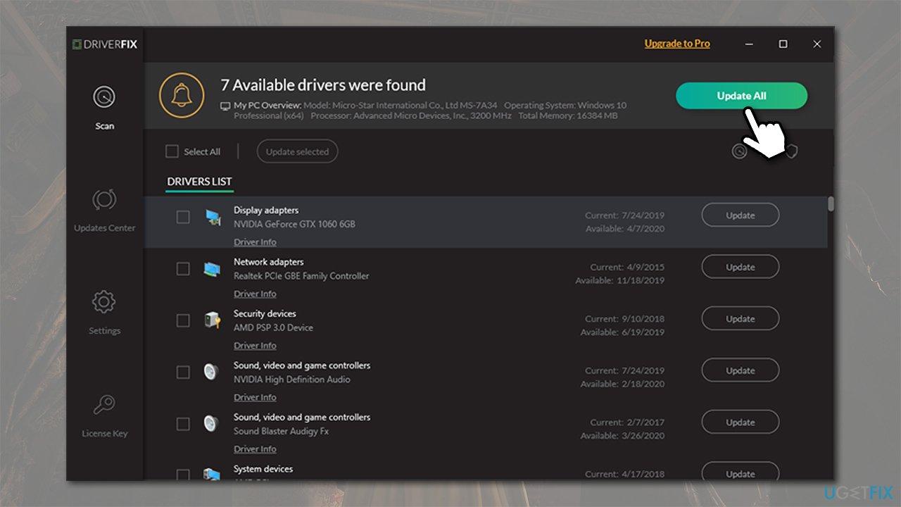 Update GPU drivers automatically