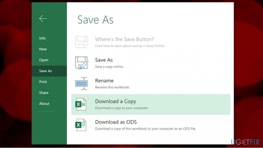 Download offline copy