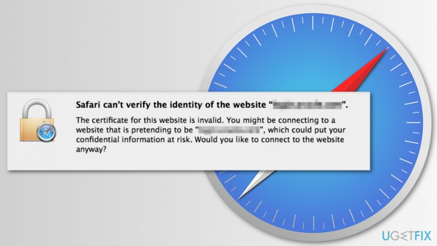 How to fix \u201cSafari Can\u0027t Verify the Identity of the Website\u201d error?