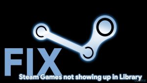 How to fix Steam Games not showing up in Library?