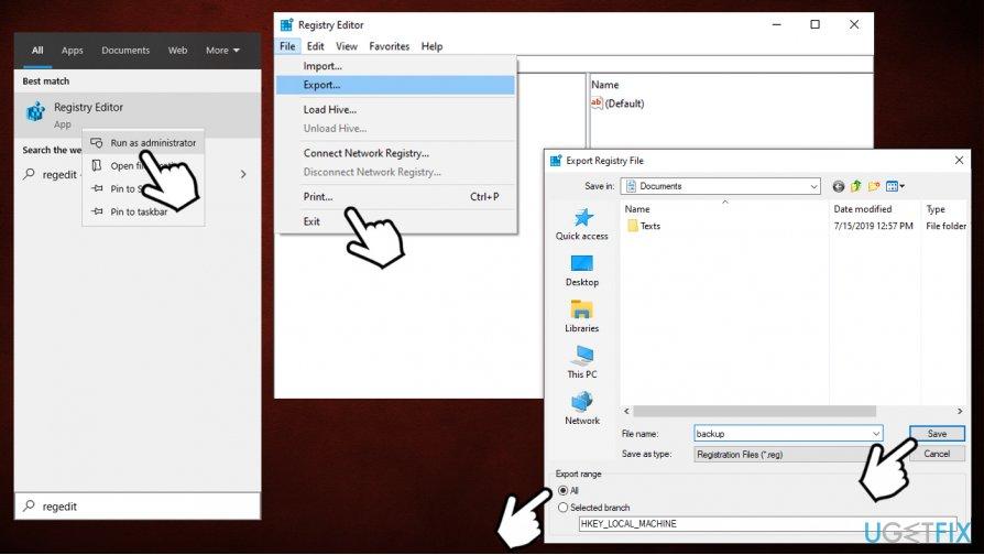 Edit Windows Registry
