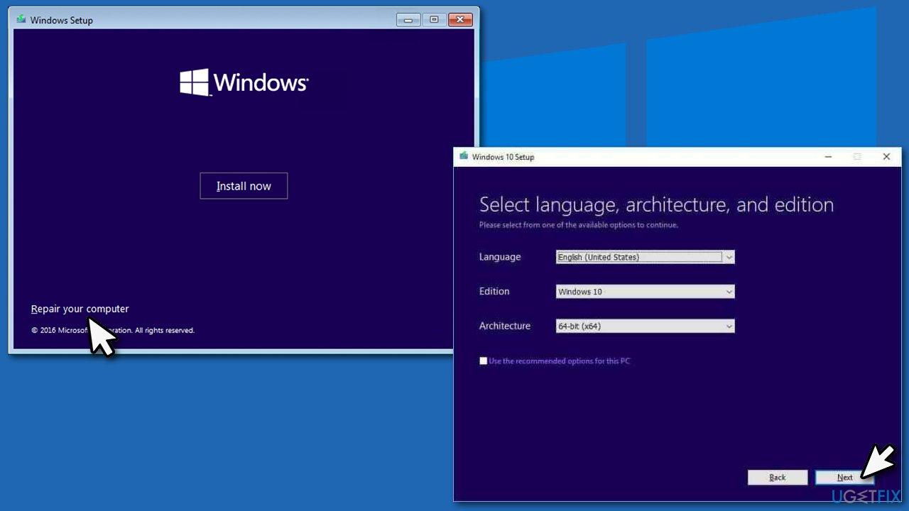 Use Windows Media Creation Tool