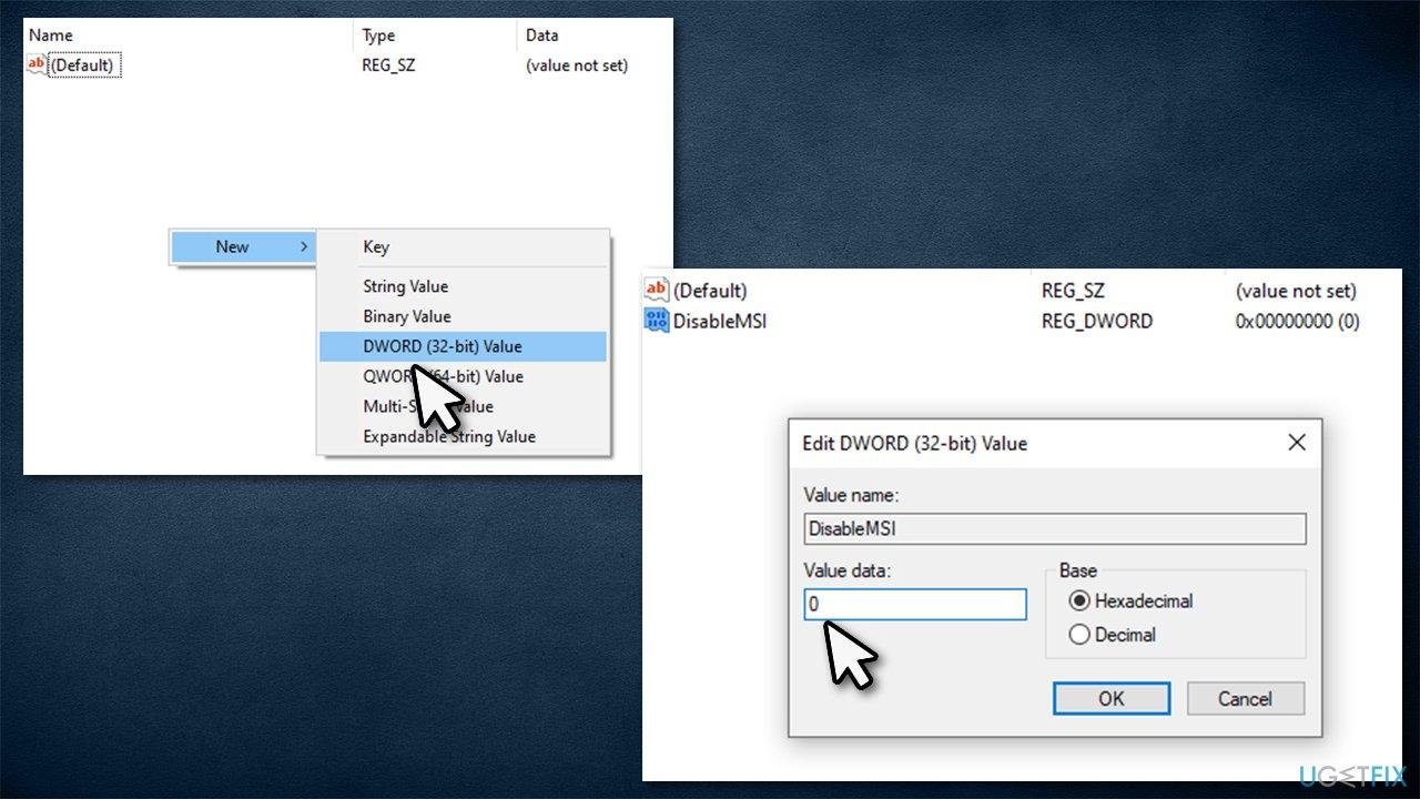 Modify Windows Registry 2
