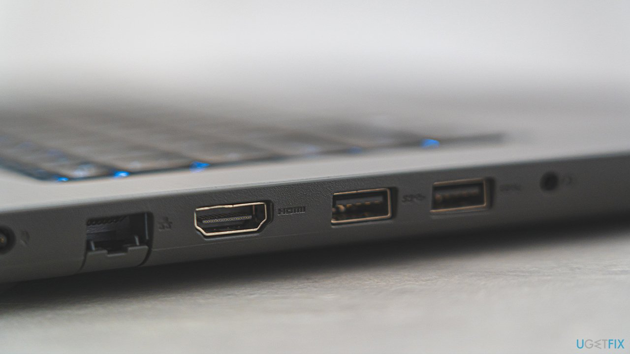 Use a different USB slot