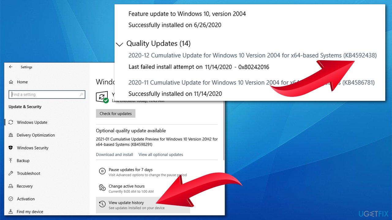 Install updates manually