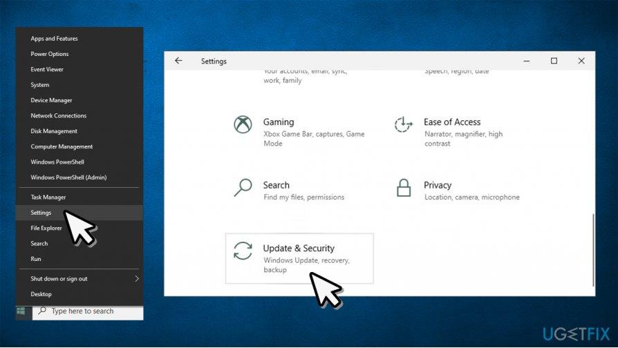 Access Update & Security