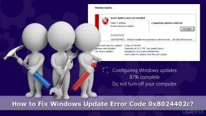 How to Fix Windows Update Error Code 0x8024402c?