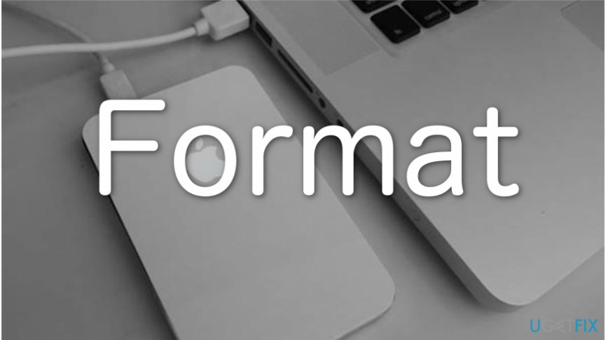 How to format drive on Mac