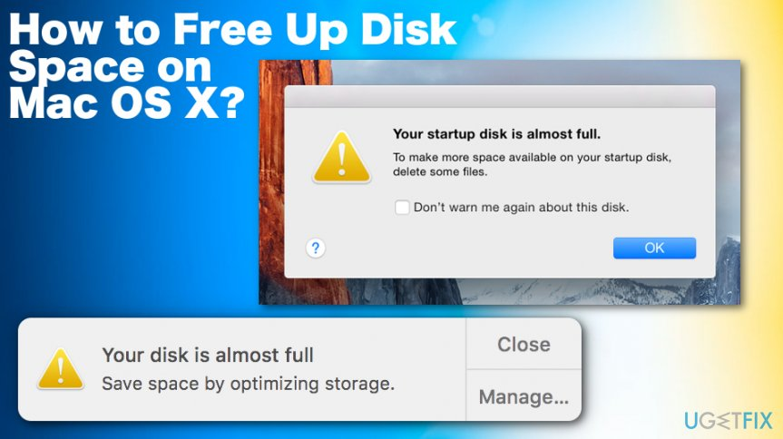How to Free Up Disk Space on Mac OS X
