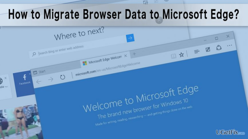 Importing Browser Data to Microsoft Edge