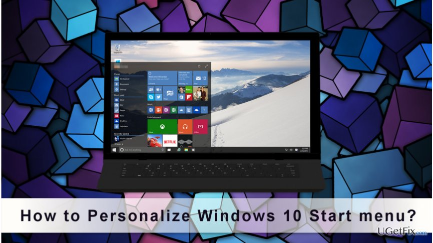 Users Can Customize Windows 10 Start menu