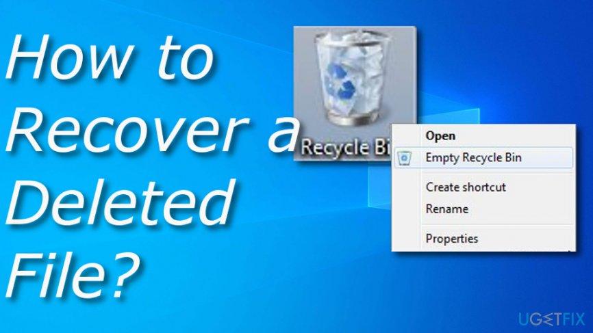 Restoring delete files