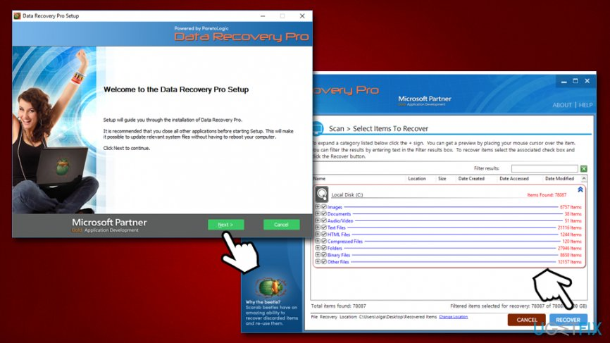 Use Data Recovery Pro for Nesa