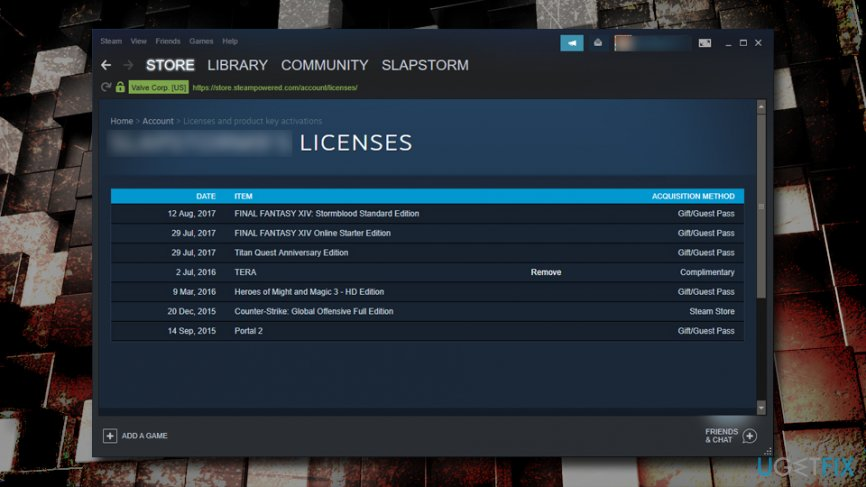 Perform Steam account checks