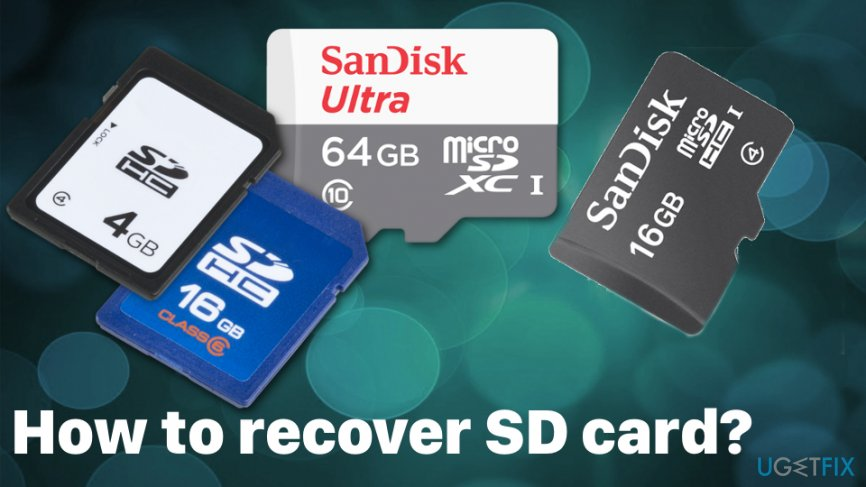 How to recover SD card