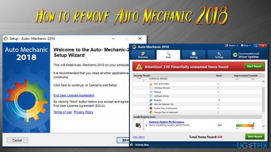 How to remove Auto Mechanic 2018