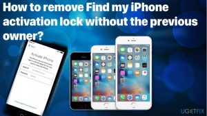 How to remove Find my iPhone activation lock without the previous owner?