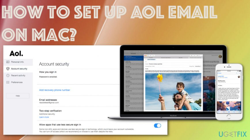 How to set up AOL email on Mac