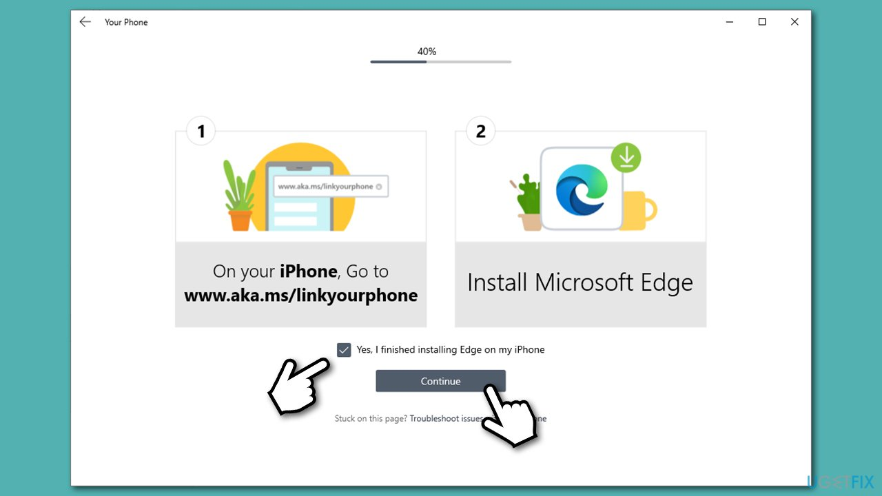 Download MS Edge of iPhone