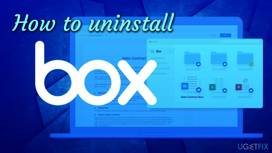 How to uninstall Box Sync on Mac OS X (free guide)