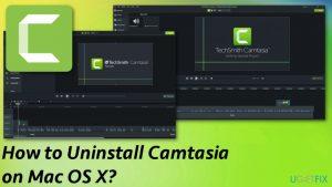 How to Uninstall Camtasia on Mac OS X?